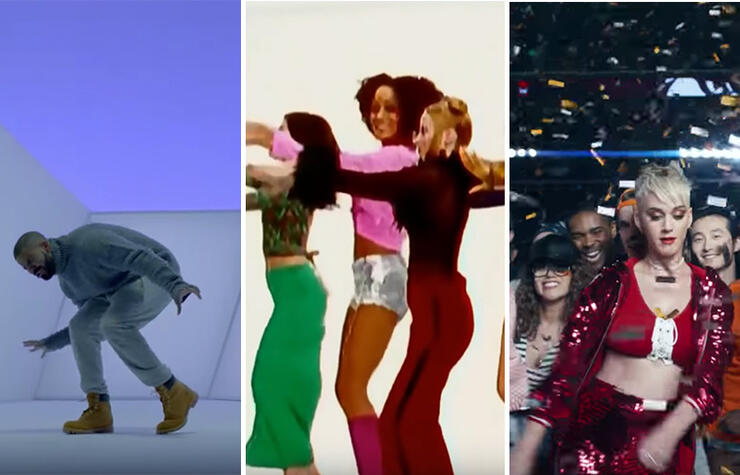 Dance videos to popular songs