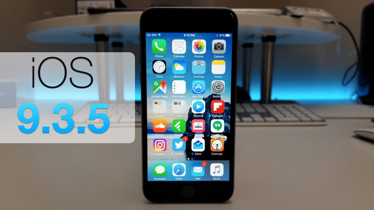What is ios 9.3 5